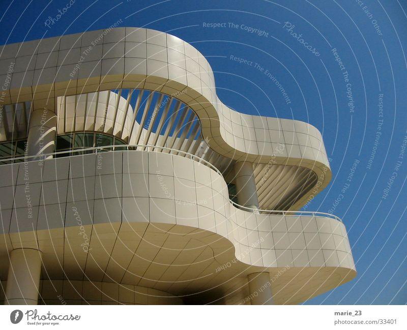 White Architecture Swing California Los Angeles Getty Center