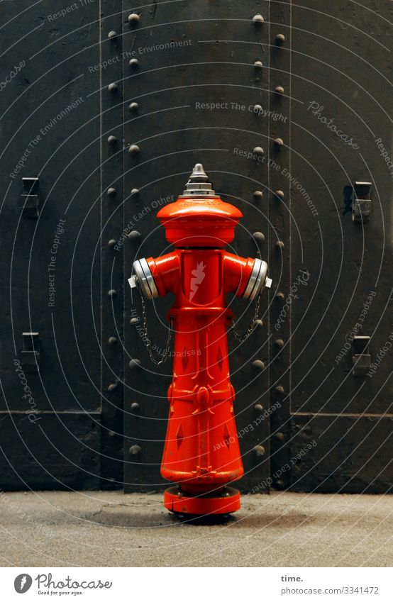 Imperial hydrant - for willma Technology Water resources management Hamburg St Pauli-Elbtunnel door Goal Pedestal Fire hydrant Esthetic Exceptional conceit Red