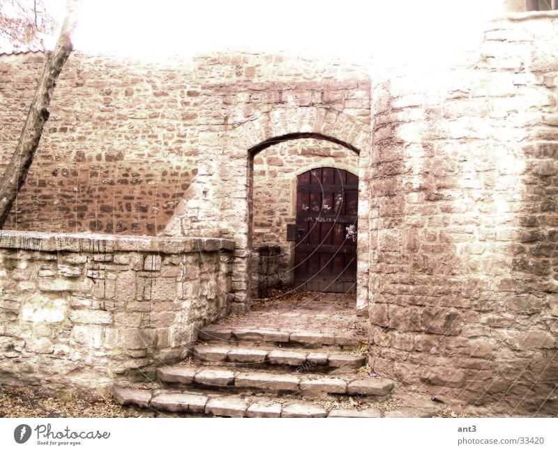 Stone Wall (barrier) Architecture Stairs Entrance Knight R