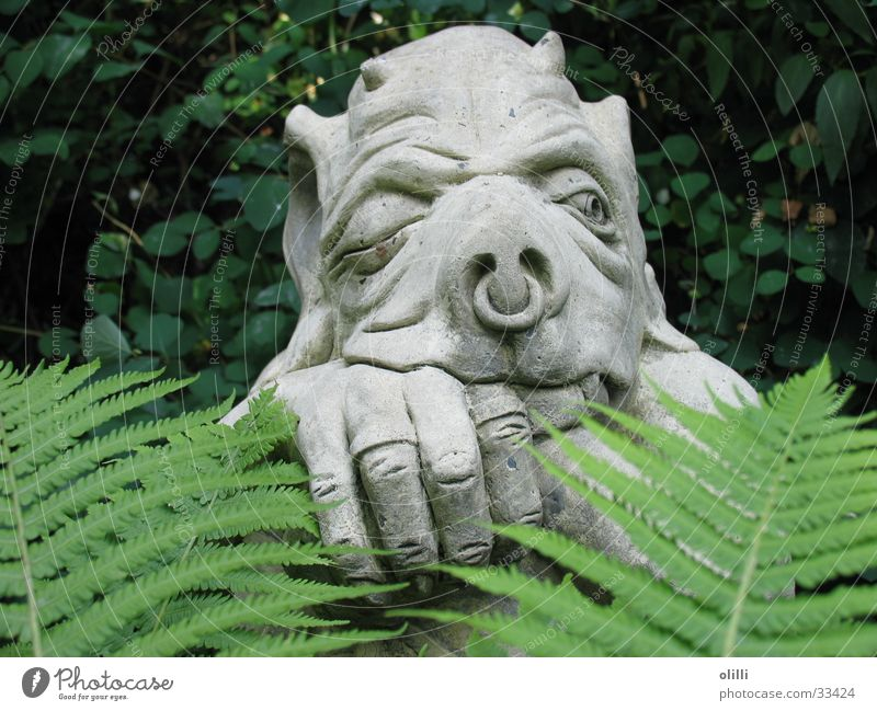 Garden Statue Obscure Watchfulness Sculpture Fantasy literature