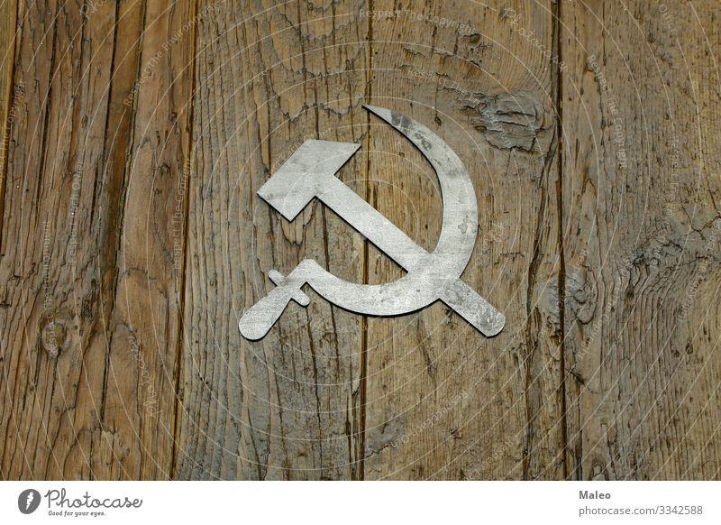 Sickle and Hammer Background picture Communism Communist Past Patriotism Retro sickle Sign Socialism Soviet Union Symbols and metaphors Labor union Revolution