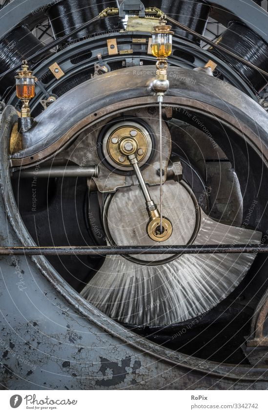 Detail of a historic industrial engine. Lifestyle Design Leisure and hobbies Model-making Vacation & Travel Tourism Sightseeing Education Science & Research