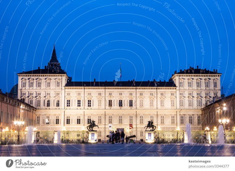 Royal Palace of Turin or Palazzo Reale Style Design House (Residential Structure) Museum Sky Town Places Building Architecture Facade Monument Old Historic