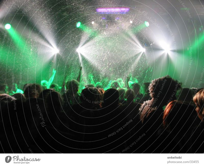 PartyCrew Part One Disco Laser show Group Music Conceptual design Party mood Joy Party goer