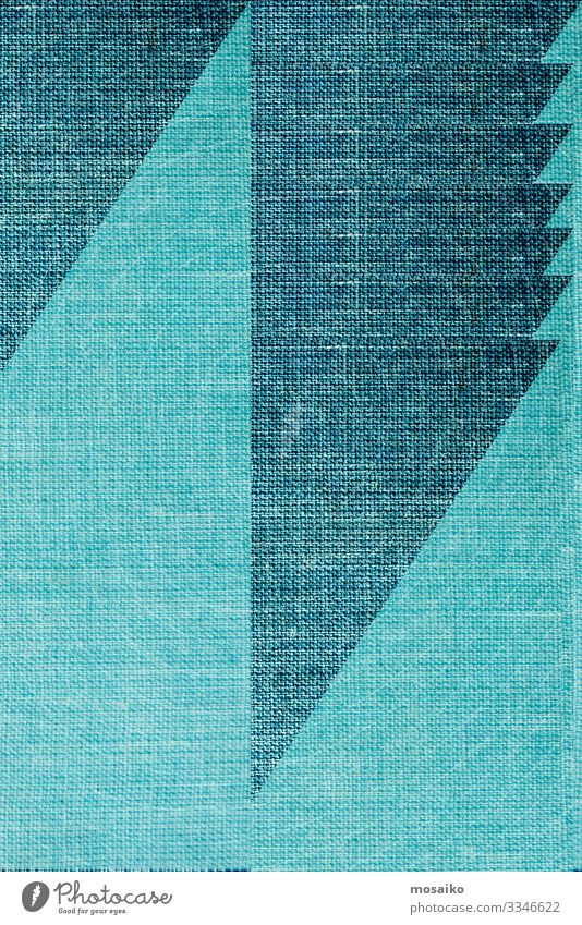 geometry on linen surface - color design Lifestyle Elegant Style Design Joy Leisure and hobbies Decoration Art Fashion Cloth Line Stripe Infinity Bright Natural