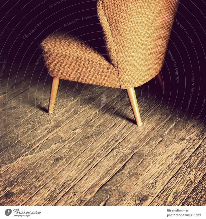 Yellow Interior design Wood Design Retro Furniture Wooden floor Armchair