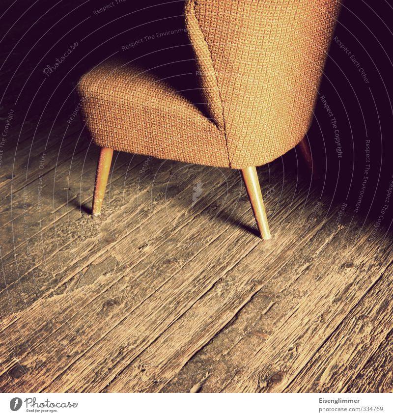 Yellow Interior design Wood Design Retro Furniture Wooden floor Armchair
