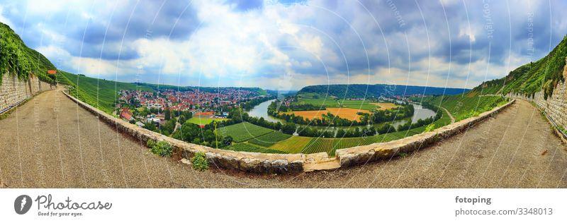 Mundelsheim am Neckar a wine region near Stuttgart Tourism Trip Agriculture Forestry Landscape Water Clouds Brook River Tourist Attraction Idyll Destination
