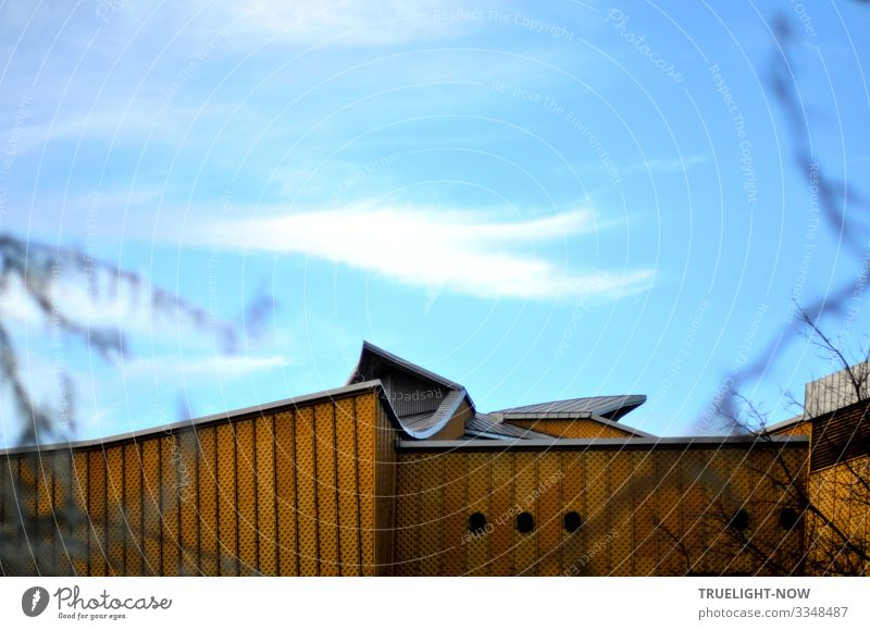 Vacation & Travel Architecture Berlin Style Building Tourism Design Music Elegant Culture Esthetic Creativity To enjoy Tourist Attraction Landmark
