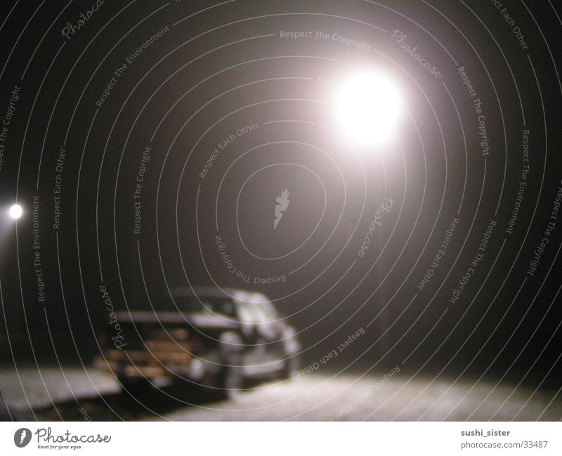 snow and fog Offroad vehicle Fog Black Lantern Winter Night Things jeep Snow Blur
