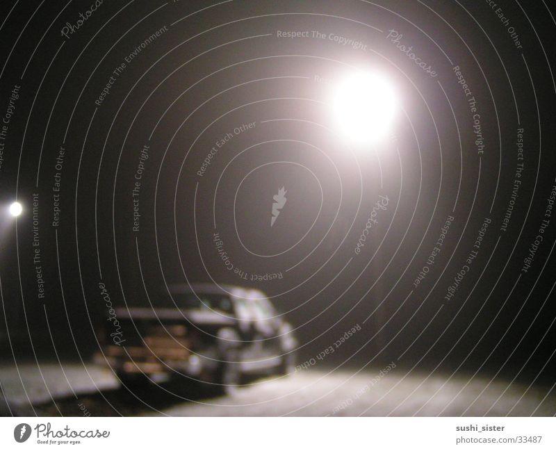 Winter Black Snow Fog Things Lantern Offroad vehicle
