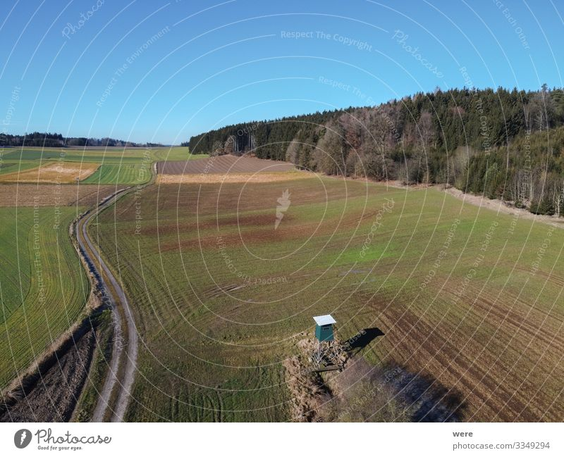 Aerial view of a dirt road between fields Landscape Field Lanes & trails Free Fresh Infinity Clean area flight bird's eye view copter country countryside