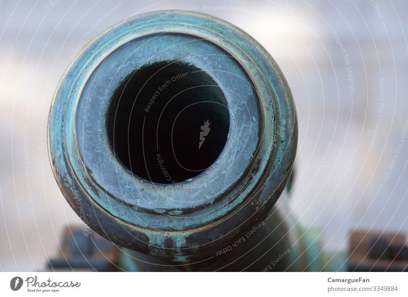 glimpse Collector's item Cannon Metal History of the Authentic Historic Cold Blue Gray Honor Bravery Power Might Safety Protection Solidarity Responsibility