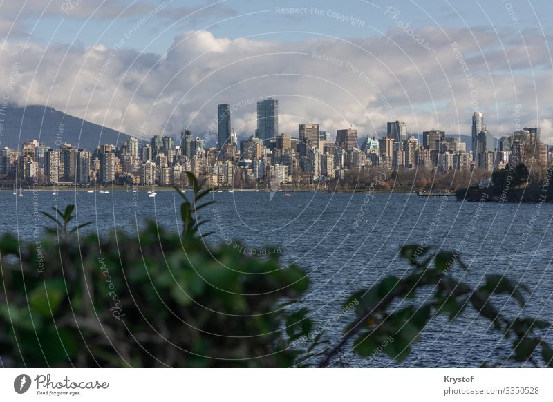 Vancouver Environment Nature Landscape Canada Town Capital city Downtown Moody Panorama (View) City Colour photo Deserted Day