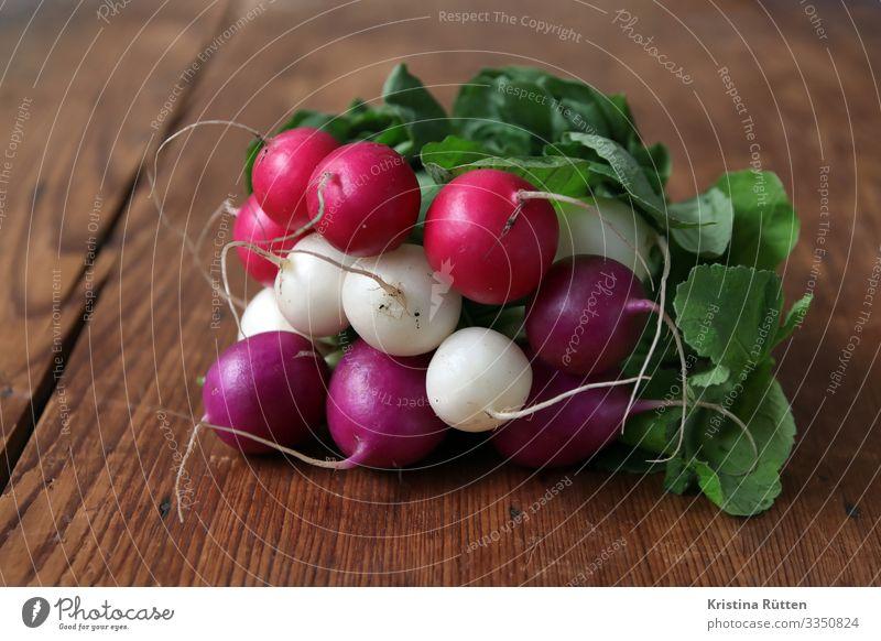 colorful radishes Vegetable Vegetarian diet Fresh Healthy Delicious Violet Pink White Radish garden radish Bulb salubriously Raw federation Organic Crunchy