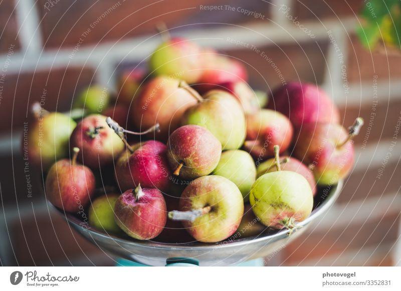 Mini apple harvest apples Apple harvest scale bowl Harvest thanksgiving Heap