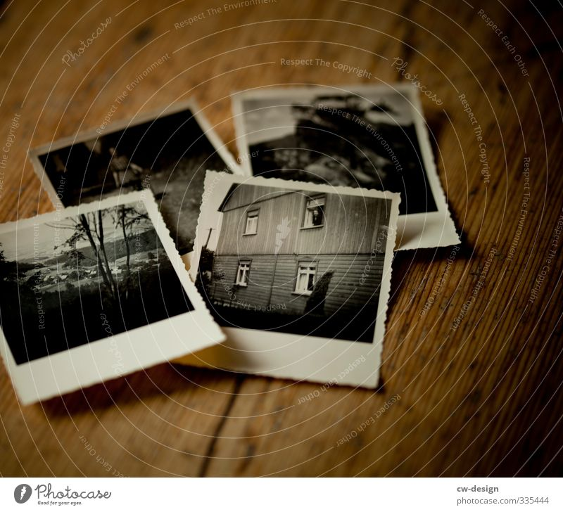 The good old days Style Exhibition Print media Wood Old Authentic Dark Historic Original Retro Brown Esthetic Nostalgia Past Transience Photography Colour photo