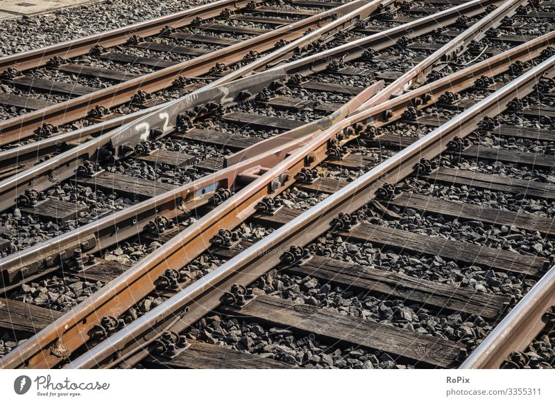 railway tracks Lifestyle Style Design Leisure and hobbies Model-making Model railroad Vacation & Travel Work and employment Profession Workplace