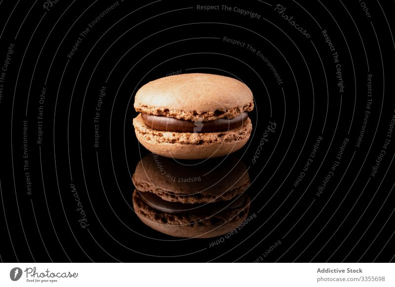 Fresh crunchy macaroon stack dessert pink snack food biscuit sweet gourmet assorted pastry confection traditional delicious tasty yummy sugar cuisine cookie
