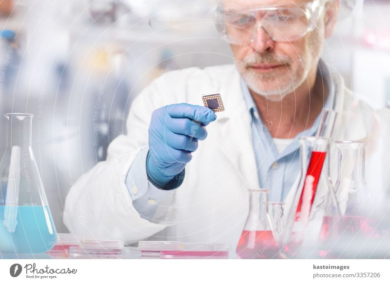 Life science research. Health care Medication Science & Research Laboratory Examinations and Tests Work and employment Technology Human being Man Adults Gloves