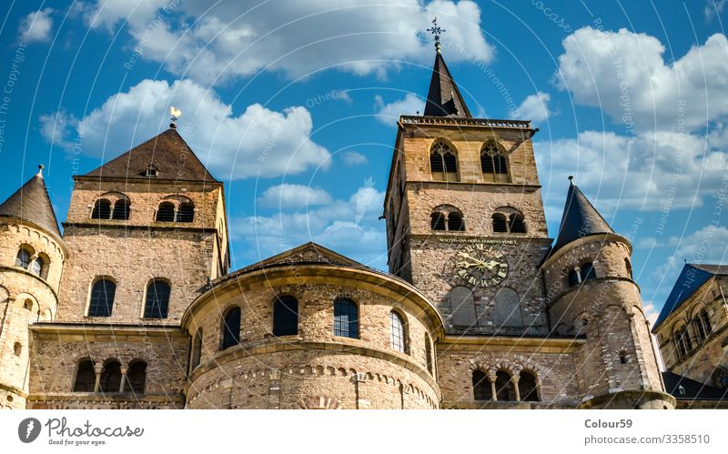 Cathedral of Trier St. Peter Sightseeing Facade Air Traffic Control Tower Religion and faith City Germany Europe Symbols and metaphors Novel Architecture eldest
