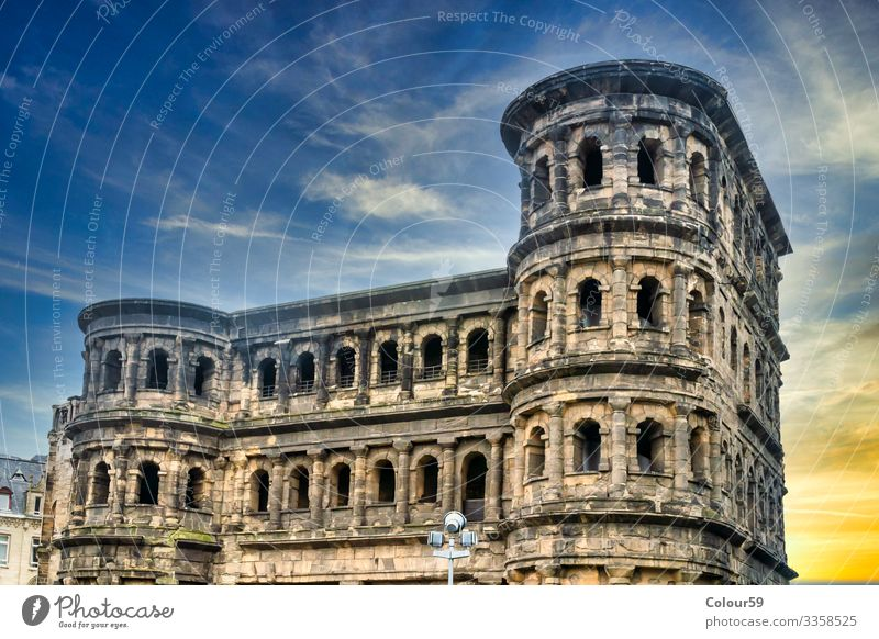 Porta Nigra Vacation & Travel Tourist Attraction Landmark Monument Air Traffic Control Tower Innovative Trier City Germany Novel Top World heritage Europe