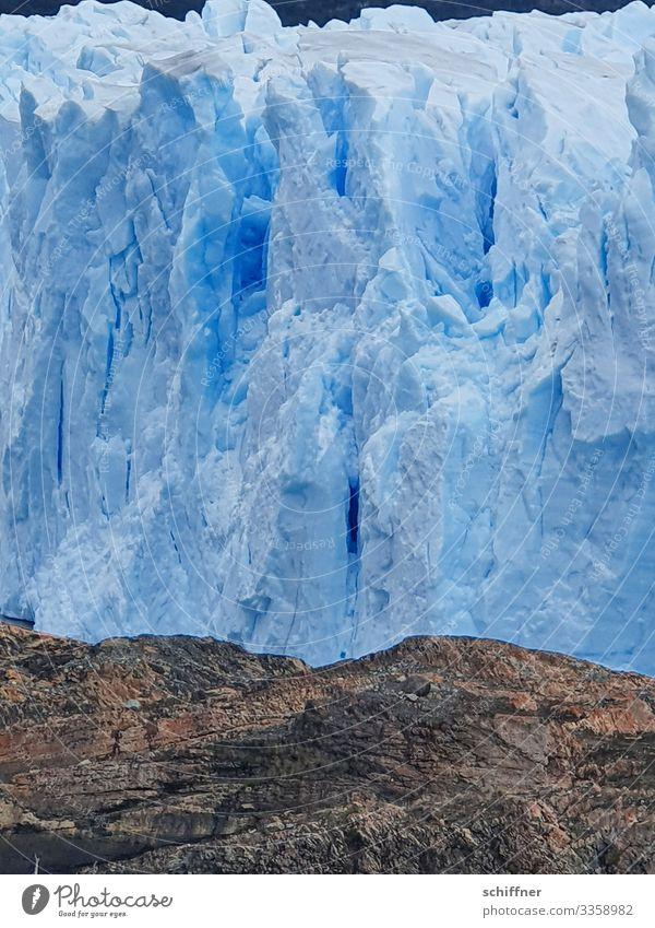 Nature Blue Landscape Mountain Environment Cold Exceptional Rock Ice Climate Frost Glacier Climate change Cervasse Patagonia Argentina