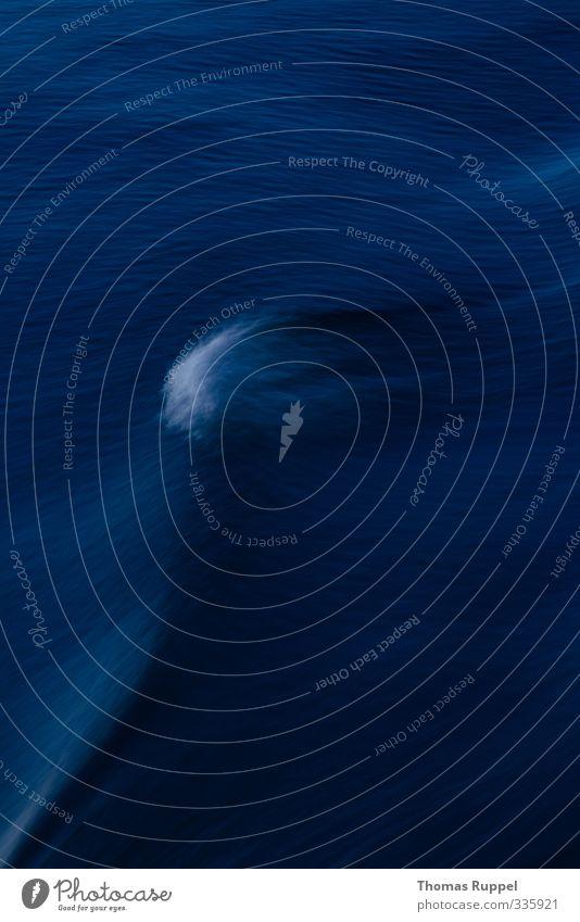 Blue Water Ocean Environment Moody Waves Fresh Dangerous Elements Baltic Sea