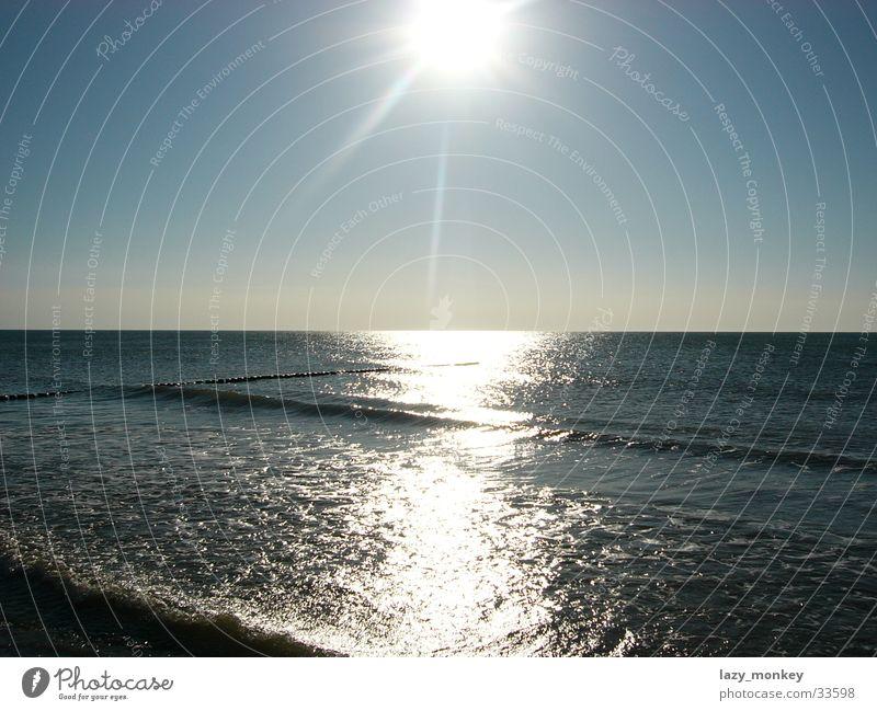 Sun over Hiddensee Sunset Water