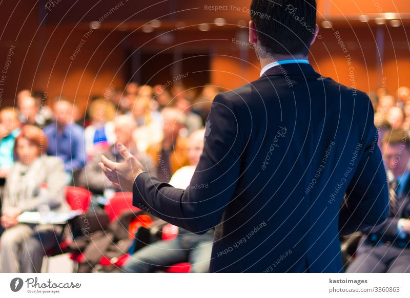 Speaker at Business Conference and Presentation. Audience Adult Education Study Teacher Academic studies Professor Lecture hall Meeting Science & Research