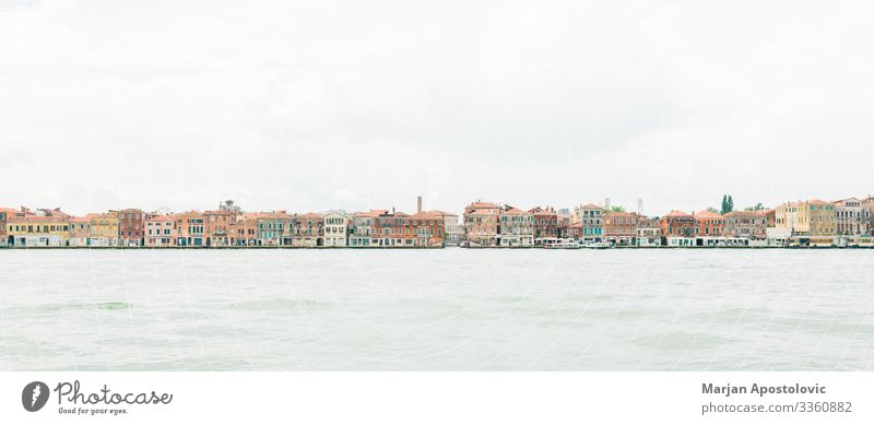 Panoramic view of Venice on the water, Italy Vacation & Travel Tourism Sightseeing City trip Landscape Europe Town Port City Downtown Old town Overpopulated