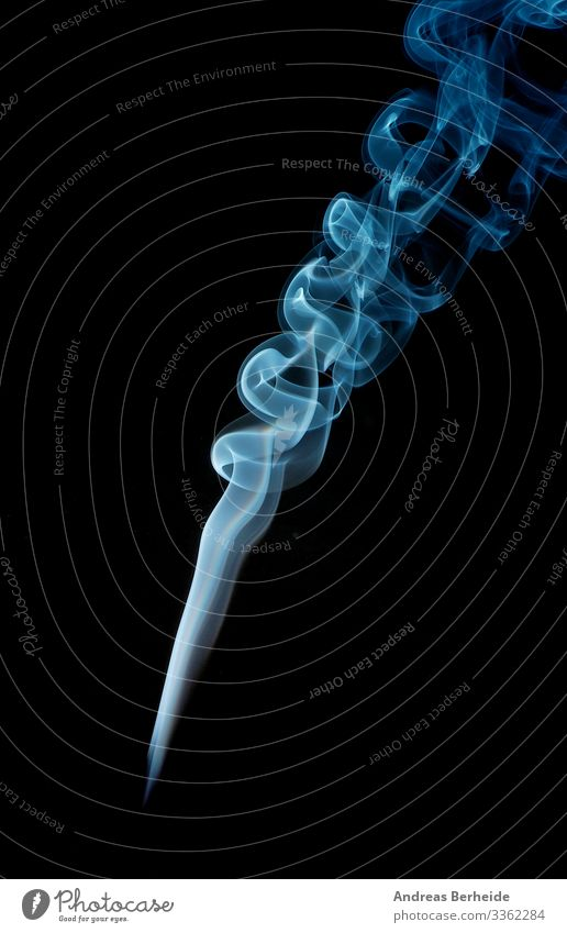 Abstract smoke in blue elegant backdrop form detail aroma slow science fog horror studio fumigate texture mystery fumes movement wallpaper shot toxic beautiful