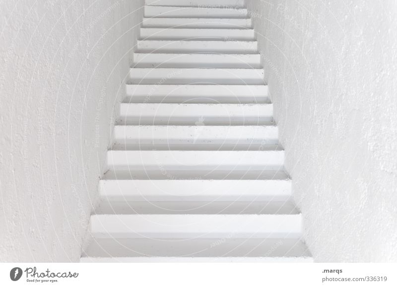 trep Elegant Style Design Interior design Architecture Stairs Staircase (Hallway) Exceptional Infinity Modern Clean Beautiful White Beginning Colour Target