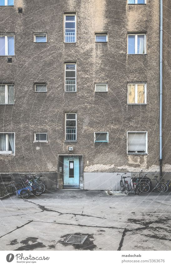 Town House (Residential Structure) Window Architecture Lifestyle Wall (building) Building Wall (barrier) Moody Living or residing Flat (apartment) Door Poverty