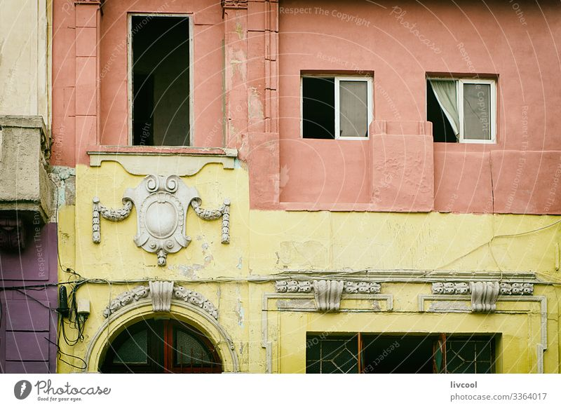 old edifice, havana - cuba Lifestyle Vacation & Travel Tourism Trip Island House (Residential Structure) Decoration Art Architecture Culture Small Town Downtown