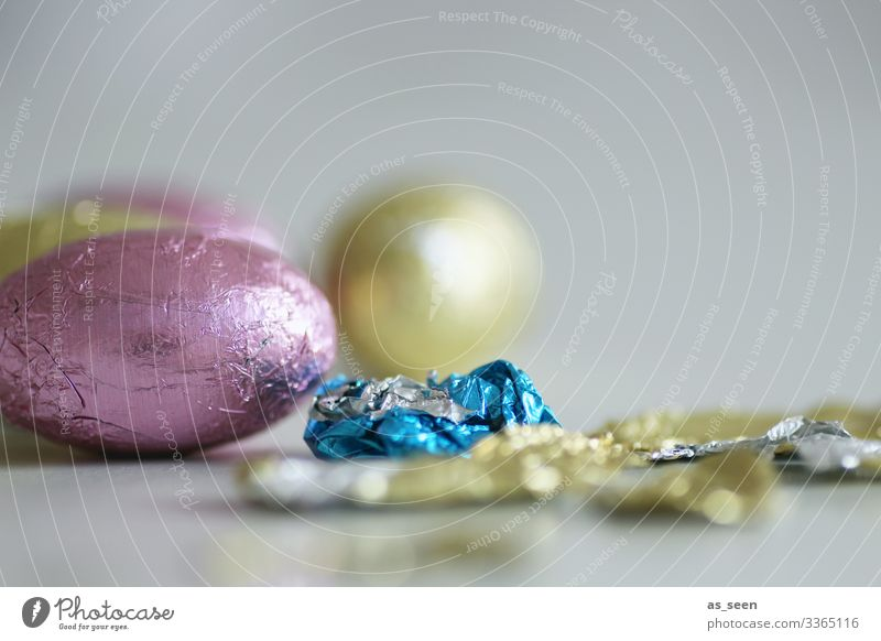Blue Colour Food Eating Small Pink Design Nutrition Decoration Sweet Modern Gold Glittering Lie Esthetic To enjoy