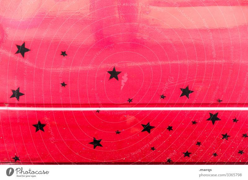 Stars and Stripe Metal Star (Symbol) Black Red Car door racing strip Vehicle Line Motor vehicle Means of transport