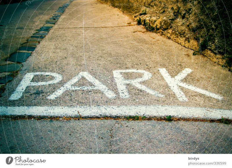 parkland Park Street Characters Signs and labeling Signage Warning sign Illuminate Large Beginning Leisure and hobbies Capital letter Colour photo