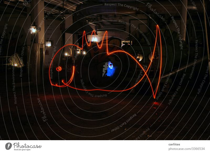 Jonas jonas Whale Bible Religion and faith Visual spectacle Light painting Industrial wasteland