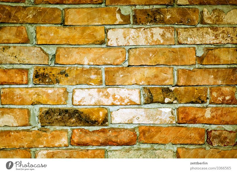 masonry Brick Construction site Seam Building Background picture Wall (barrier) Building stone Montage Flat (apartment) House location Deserted Copy Space