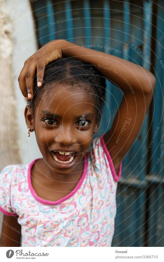 expressive girl , havana - cuba Lifestyle Style Beautiful Playing Vacation & Travel Trip Island Child Human being Feminine Girl Infancy Head Hair and hairstyles