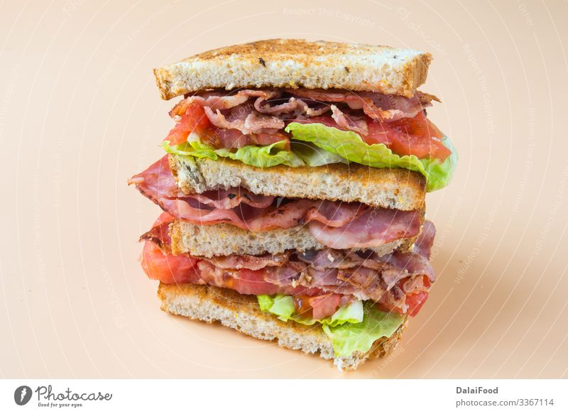 A BLT is a type of sandwich Bread Fast food Tradition Bacon blt blt sandwich Cholesterol club sandwich floors lettuce Meal Pork Sandwich Tomato Colour photo