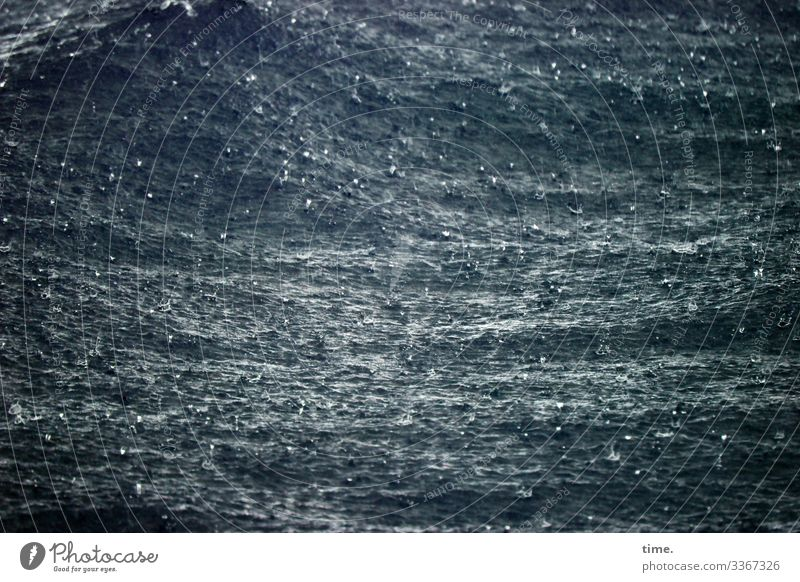 rough is the sea Environment Nature Water Bad weather Rain Waves Baltic Sea Ocean Exceptional Dark Maritime Wet Emotions Moody Power Might Watchfulness Life