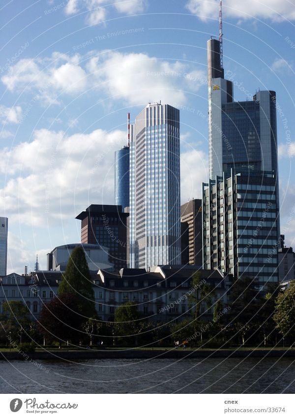 Frankfurt Modern Architecture Office building