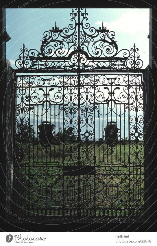 Park Architecture Europe Castle Scotland Portal Great Britain Entrance