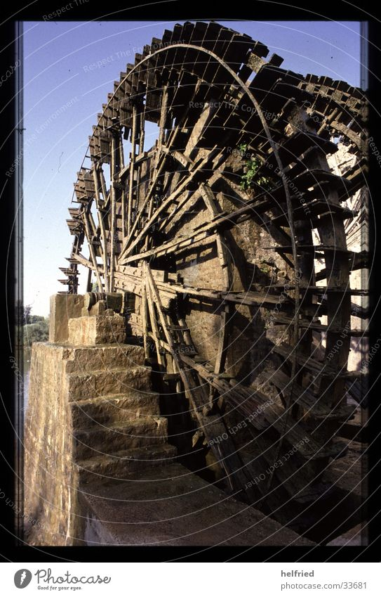Vacation & Travel Technology Syria Near and Middle East Electrical equipment Irrigation Water wheel Scoop wheel