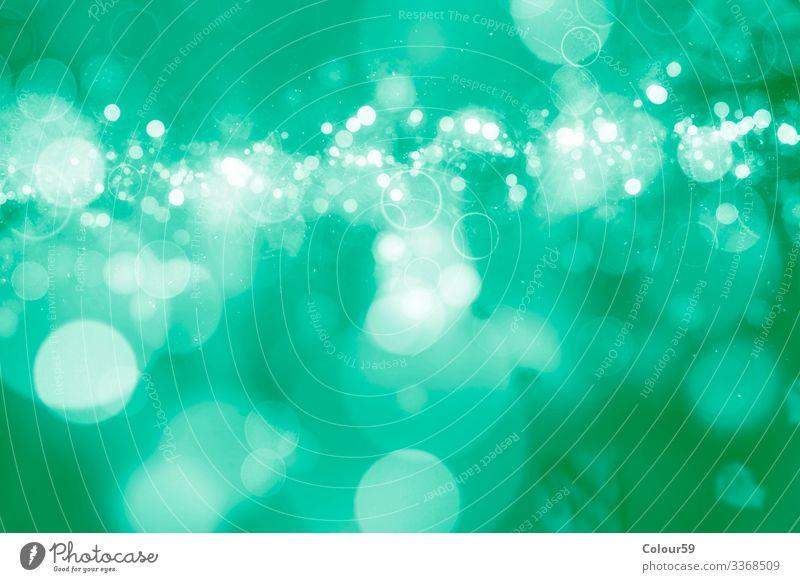 Nice Bokeh in green Design Christmas & Advent Nature Glittering Soft Background picture Glamor blurry Green bokeh gleam gleaming Circle Blur Pattern Festive