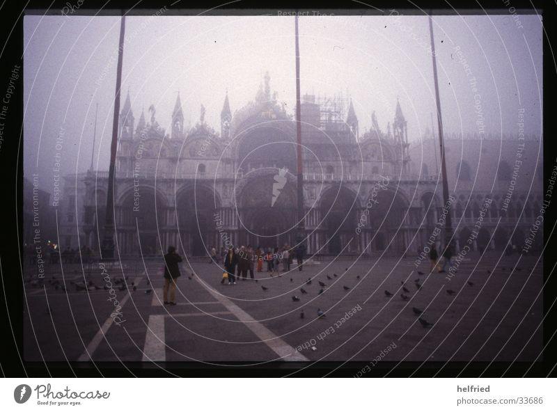 november fog in venice Italy Venice November Fog Architecture