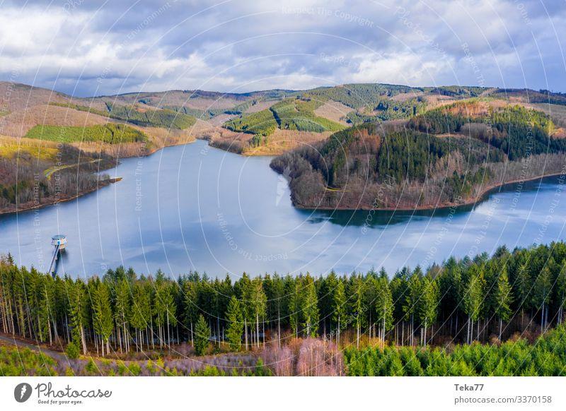 #The Rothaargebirge Winter Environment Nature Landscape Plant Forest Hill Mountain Lakeside Esthetic Sauerland Siegerland obernau Colour photo Exterior shot