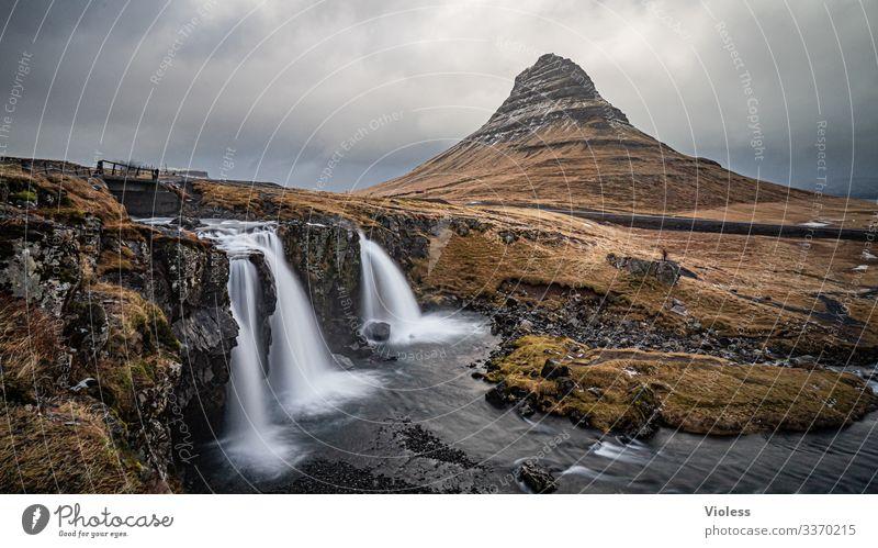 Kirkjufell's fossil Clouds Discover Long exposure Volcano Sukkurtoppen Mountain Waterfall Iceland Snæfellsnes